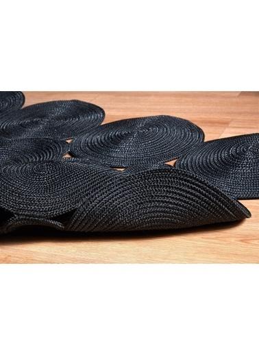 MarkaEv Nomad Jüt Halı 27 Siyah 150*230cm Siyah